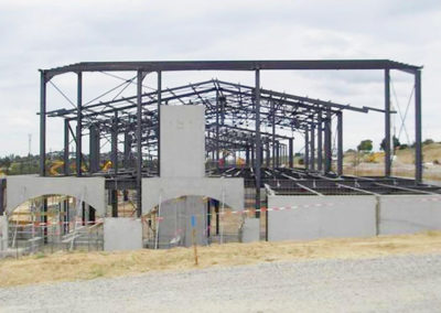 construction charpente métallique