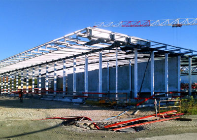 charpente construction métallique